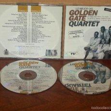 CDs de Música: GOLDEN GATE QUARTET - LO MEJOR - DOBLE CD . Lote 57969362