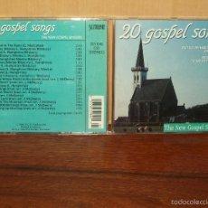 CDs de Música: 20 GOSPEL SONGS - THE NEW GOSPEDL SINGERS - CD . Lote 57970597
