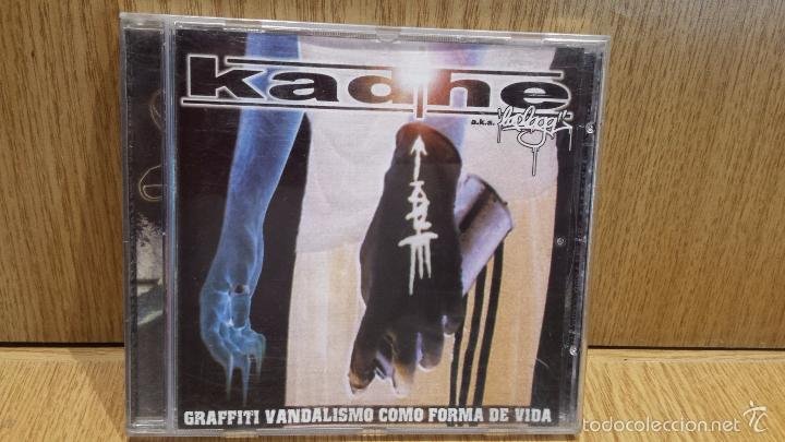 KADHE. GRAFFITI VANDALISMO COMO FORMA DE VIDA. CD / SEÑORGUINDILLA / 12 TEMAS / LUJO - DIFÍCIL. (Música - CD's Hip hop)