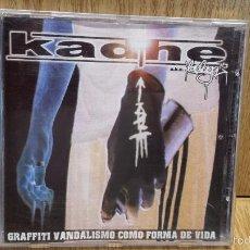 CDs de Música: KADHE. GRAFFITI VANDALISMO COMO FORMA DE VIDA. CD / SEÑORGUINDILLA / 12 TEMAS / LUJO - DIFÍCIL.. Lote 57975127