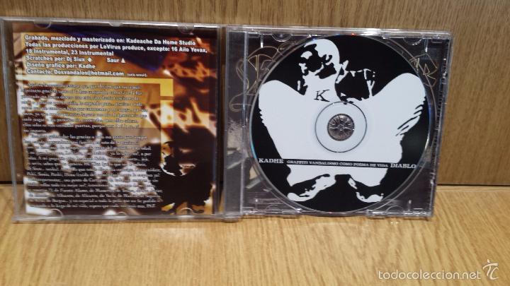 CDs de Música: KADHE. GRAFFITI VANDALISMO COMO FORMA DE VIDA. CD / SEÑORGUINDILLA / 12 TEMAS / LUJO - DIFÍCIL. - Foto 2 - 57975127