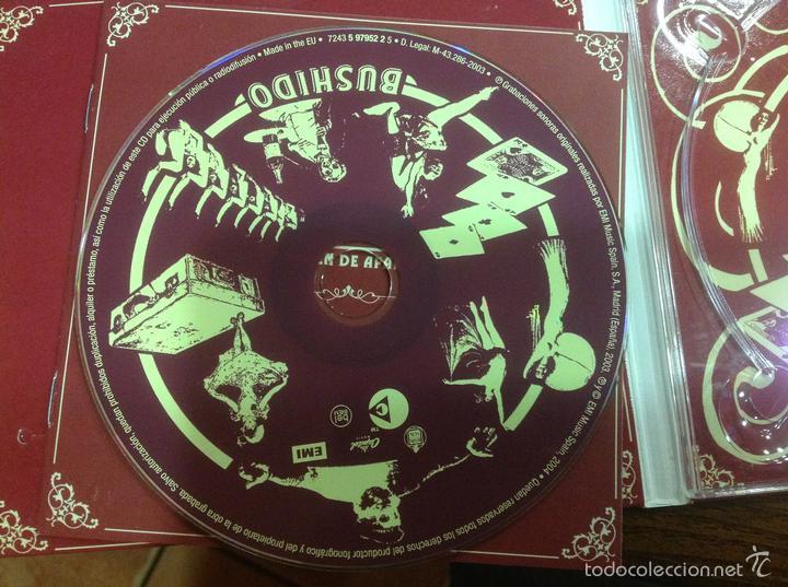 CDs de Música: Lote Cd Bushido EMI 2003 y Avalancha Héroes del Silencio EMI 1995 - Foto 13 - 184274787