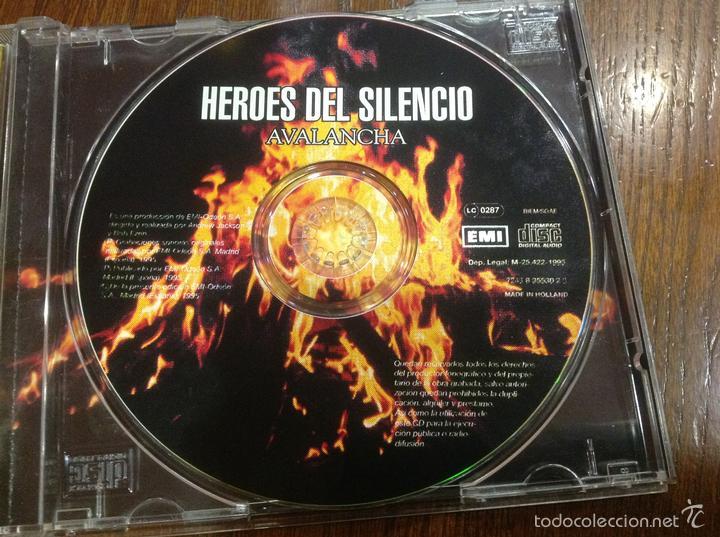 CDs de Música: Lote Cd Bushido EMI 2003 y Avalancha Héroes del Silencio EMI 1995 - Foto 14 - 184274787