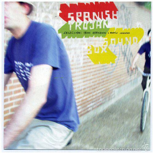 SPANISH TROJAN * CD * IBON ERRAZKIN + ROOTS SEEKER * RARE * PRECINTADO!! (Música - CD's Reggae)