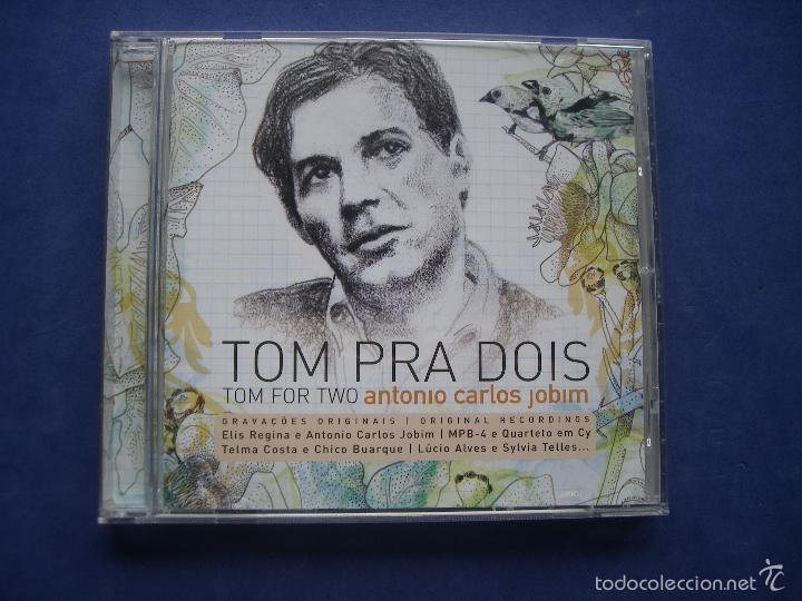 TOM PRA DOIS TOM FOR TWO ANTONIO CARLOS JOBIM 2008 UNIVERSAL EU (Música - CD's World Music)