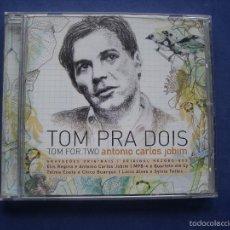 CDs de Música: TOM PRA DOIS TOM FOR TWO ANTONIO CARLOS JOBIM 2008 UNIVERSAL EU PEPETO. Lote 57990197