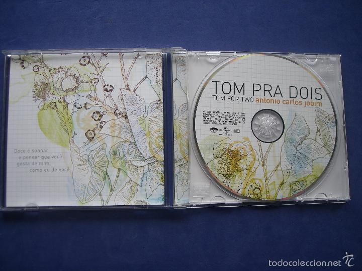 CDs de Música: TOM PRA DOIS TOM FOR TWO ANTONIO CARLOS JOBIM 2008 UNIVERSAL EU - Foto 2 - 57990197