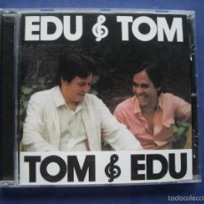 CDs de Música: TOM JOBIM Y EDU LOBO: EDU E TOM CD ALBUM 1981 MADE EU UNIVERSAL. Lote 57990294