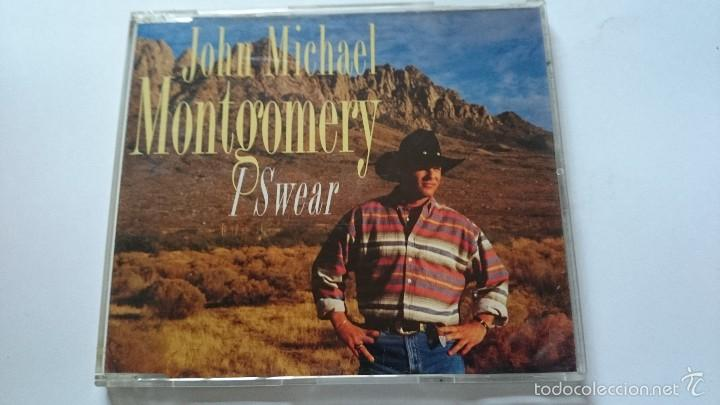 JOHN MICHAEL MONTGOMERY - I SWEAR / LINE ON LOVE / DREAM ON TEXAS LADIES /  FRIDAY (CD MAXI 1994)