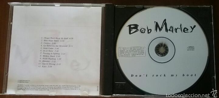 CDs de Música: CD: BOB MARLEY DON'T ROCK MY BOAT - Foto 2 - 57996772