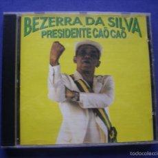 CDs de Música: BEZERRA DA SILVA ?– PRESIDENTE CAÔ CAÔ CD ALBUM 1992 BMG RCA BRASIL PEPETO. Lote 58000151