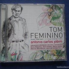 CDs de Música: ANTONIO CARLOS JOBIM ?– TOM FEMININO: ELAS CANTAM - FEMALE SING CD 2008 UNIVERSAL BRASIL PEPETO. Lote 58000238