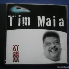 CDs de Música: TIM MAIA MILLENNIUM CD ALBUM 20 MUSICAS DO SECULO XX POLYGRAM MERCURY BRASIL. Lote 58000627