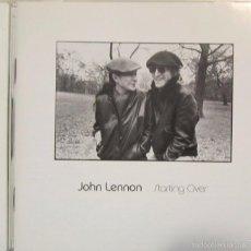 CDs de Música: CD ORIGINAL JOHN LENNON ''STARTING OVER'' 2000. Lote 58004527