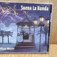 CDs de Música: SUENA LA BANDA. PLAZA MAYOR. DOBLE CD / RTVE MÚSICA - 2001 / CALIDAD LUJO.. Lote 58016654