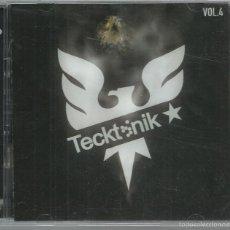 CDs de Música: VV.AA. - TECKTONIK VOL. 4 - CD DOBLE EMI 2007. Lote 195253572