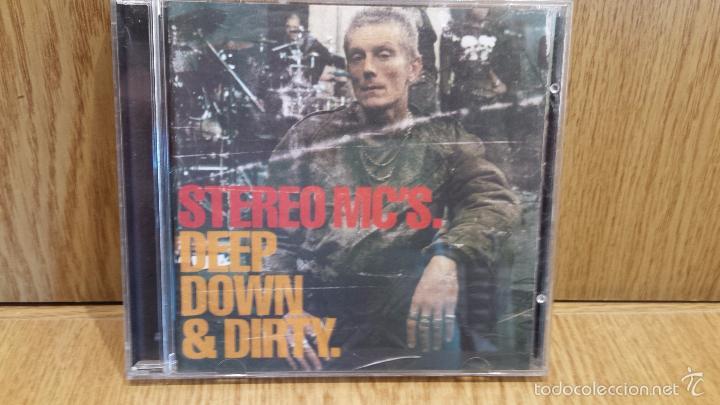 STEREO MC'S. DEEP DOWN & DIRTY. CD / ISLAN RECORDS - 2001. 12 TEMAS / CALIDAD LUJO (Música - CD's Hip hop)