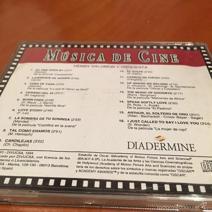 CDs de Música: Música de Cine - Foto 2 - 58076676