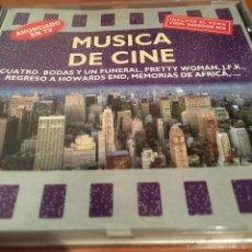 CDs de Música: MÚSICA DE CINE. Lote 58076907