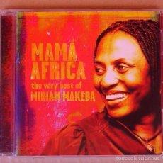 CDs de Música: MIRIAM MAKEBA - MAMA AFRICA (CD 2001). Lote 58083852
