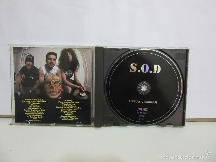CDs de Música: S.O.D. - Live At Budokan - 1998 - Germany - NM+/EX+ - Foto 3 - 58098639