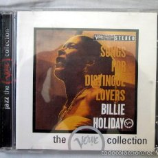 CDs de Música: BILLIE HOLIDAY - SONGS FOR DISTINGUE LOVERS. Lote 58102074