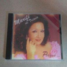 CDs de Música: CD MARIFÉ DE TRIANA - PORQUÉ.... Lote 58113863