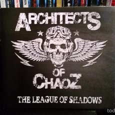 CDs de Música: ARCHITECTS OF CHAOZ - THE LEAGUE OF SHADOWS. Lote 58115241
