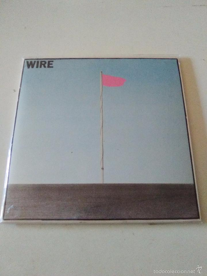 Wire pink flag ( 1977 emi harvest japan ) repli - Sold