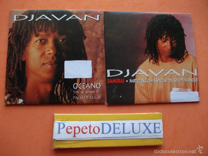 DJAVAN (2 CD SINGLE ) SAMURAI + OCEANO CDS CARTON SPAIN 1994 PDELUXE (Música - CD's World Music)