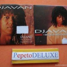 CDs de Música: DJAVAN (2 CD SINGLE ) SAMURAI + OCEANO CDS CARTON SPAIN 1994 PDELUXE. Lote 58121093