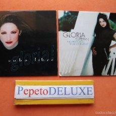 CDs de Música: GLORIA ESTEFAN (2 CDS) NO PRETENDO + CUBA LIBRE CDS / CARTON SPAIN 1987 PDELUXE. Lote 58121120