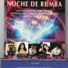 CDs de Música: FLAMENCO, COPLAS, RUMBAS, SEVILLANAS - NOCHE DE RUMBA - VARIOS. Lote 58125915