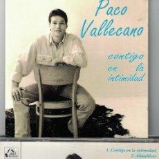 CDs de Música: FLAMENCO, COPLAS, RUMBAS, SEVILLANAS - PACO VALLECANO - CONTIGO EN LA INTIMIDAD . Lote 58126139