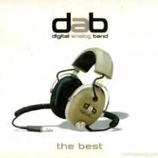 CDs de Música: DAB, DIGITAL ANALOG BAND - THE BEST - PEDRO ANDREU (HEROES DEL SILENCIO), 11 TRACKS - CD ALBUM 2003. Lote 58127089