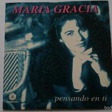 CDs de Música: MARIA GRACIA - PENSANDO EN TI (CD SINGLE 1997). Lote 58136664
