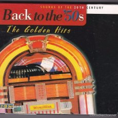 CDs de Música: BACK TO THE 50S - THE GOLDEN HITS - 2 CDS. Lote 58145414