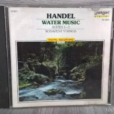 CDs de Música: HANDEL. WATER MUSIC. MUSICA.. Lote 58195095