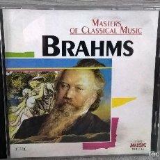 CDs de Música: BRAHMS. MASTER OF CLASSICAL MUSIC. MUSICA.. Lote 58195134