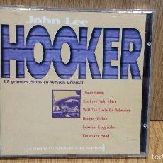 CDs de Música: JOHN LEE HOOKER. 12 GRANDES ÉXITOS EN VERSIÓN ORIGINAL. CD / STAR RECORDS / LUJO.. Lote 58198184