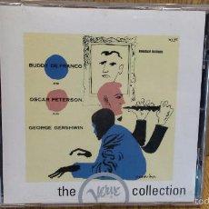 CDs de Música: BUDDY DE FRANCO AND OSCAR PETERSON - PLAY GEORGE GERSHWIN. VERVE COLLECTION JAZZ. / LUJO.. Lote 58198995