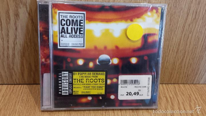 THE ROOTS / THE ROOTS COME ALIVE. CD / MCA RECORDS - 1999 / PRECINTADO. (Música - CD's Hip hop)