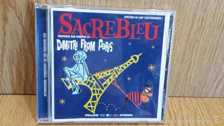 DIMITRI FROM PARIS. SACREBLEU. CD / ATLANTIC - 18 TEMAS / CALIDAD LUJO. (Música - CD's Jazz, Blues, Soul y Gospel)