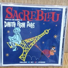 CDs de Música: DIMITRI FROM PARIS. SACREBLEU. CD / ATLANTIC - 18 TEMAS / CALIDAD LUJO.. Lote 58204071