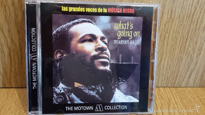 MARVIN GAYE. WHAT'S GOING ON - THE MOTOWN COLLECTION / 9 TEMAS / LUJO. (Música - CD's Jazz, Blues, Soul y Gospel)