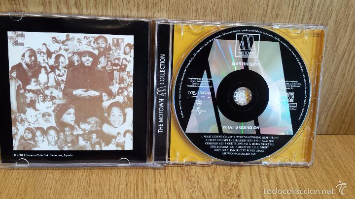 CDs de Música: MARVIN GAYE. WHAT'S GOING ON - THE MOTOWN COLLECTION / 9 TEMAS / LUJO. - Foto 2 - 58204224