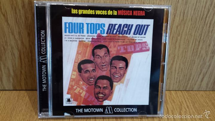FOUR TOPS. REACH OUT. CD / 12 TEMAS / THE MOTOWN COLLECTION / LUJO. (Música - CD's Jazz, Blues, Soul y Gospel)