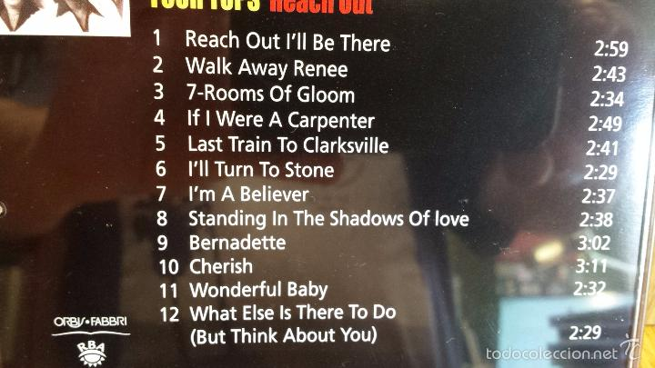 CDs de Música: FOUR TOPS. REACH OUT. CD / 12 TEMAS / THE MOTOWN COLLECTION / LUJO. - Foto 3 - 58204306
