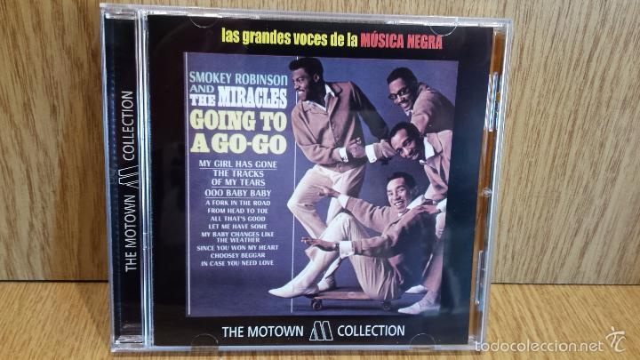 SMOKEY ROBINSON AND THE MIRACLES. GOING TO A GO-GO / 12 TEMAS / TE MOTOWN COLLECTION. (Música - CD's Jazz, Blues, Soul y Gospel)