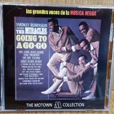 CDs de Música: SMOKEY ROBINSON AND THE MIRACLES. GOING TO A GO-GO / 12 TEMAS / TE MOTOWN COLLECTION.. Lote 58204897